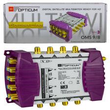 Opticum Multischalter PMS 9/8 Profi Line Multiswitch Digital HDTV UHD SKY SAT 4K