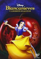 """DVD BLANCANIEVES Y LOS SIETE ENANITOS Disney CLASICO Nº1 """" NUEVO Y PRECINTADO """""""