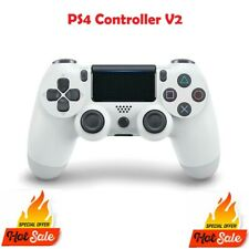 PS4 DualShock 4 White Playstation 4 Wireless Controller V2 Version 2