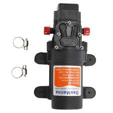 12V 35 Psi Automatic Diaphragm Water Pressure Pump For Vans,Camper,Rv,Boat,Motor
