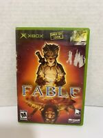 Fable 1 Original XBOX Game Complete