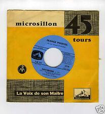 45 RPM FRANCK POURCEL NAVARONE / PROTEGEZ MOI SEIGNEUR