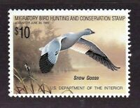 United States Duck Stamp #RW 55, MNH OG