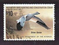 United States Duck Stamp #RW 55, MNH OG