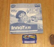 VTech Innotab 1 2 3 Dora Let's Help Game Cartridge 128
