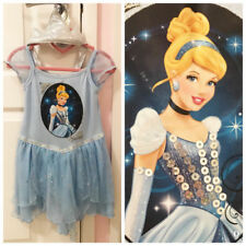 Cinderella Knee Length Polyester Dresses (2-16 Years) for Girls