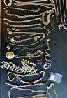Large Job Lot Of Vintage & Costume Jewellery Necklaces Bracelets Earrings