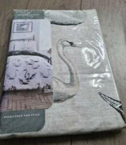 New SWAN Design Luxury Quilt Duvet Cover Set Poly-cotton Single set BNIP