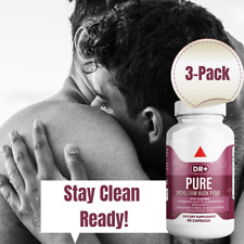 Colon Cleanse & Stay Clean with Psyllium Husk Compare to Pure for Men, 3-Pack