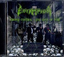 ESTAMPIDA Crowd Control - The Jaws of War CD Ottime Condizioni