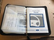 2004 1.6 5dr ford focus owners manual