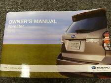 2018 Subaru Forester SUV Owner Manual 2.0XT 2.5i Limited Premium Black Touring