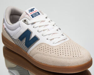 New Balance Numeric 508 Brandon Westgate Men's White Blue Lifestyle Shoe Sneaker