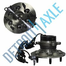 2004-2008 Chevy Colorado Z71 Front Wheel Hub and Bearing Pair 2WD ABS 6 Lug