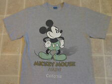 MICKEY MOUSE original art old/new T-SHIRT LG 1928 vintage drawing front/back