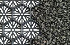 30m2 Gravel Grid - Plastic Gravel Reinforcement - Gravel Mat - Gravel Retention
