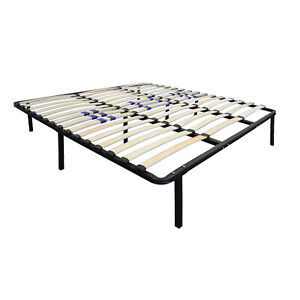 Boyd Sleep Euro Base Platform Bed Frame w/ Lumbar Adjustment for Firmness, King