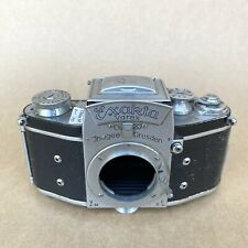 Exakta Varex VX V-1 Vintage 35mm SLR Film Camera - BODY ONLY, GOOD