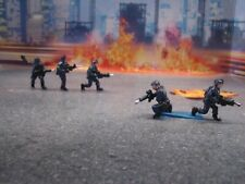 FOR CODE3 KITBASH  NYPD ESS FIGURES   1/64 SCALE