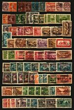 Grand Liban Lebanon used stamp collection high catalogue value Timbres 3 pages