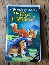 The Fox and the Hound VHS Black Diamond Walt Disney Original Animated Classic 34
