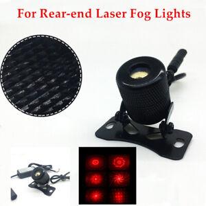 Car Motorcycle Decorative Colorful Lights For Rear-end Laser Fog Lights 12-24V