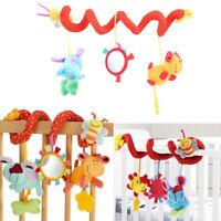 Lovely Animal Handbells Developmental Toy Bed Bells Kids Baby Soft Toys Rattle