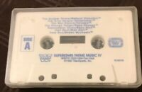 WWF WWE Superstars Theme Music IV 4 Fan Club Cassette Wrestling Vintage 1992