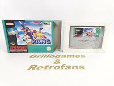 "Super Nintendo Spiel "" SUPER PANG""   Snes   Ovp   *neuwertig"