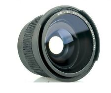 58MM 0.35X Fisheye Wide Angle Lens w Macro for CANON 1100D 700D 650D 600D 60D 7D