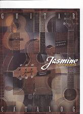 #MISC-0381 - vintage JASMINE TAKAMINE GUITARS musical instrument catalog