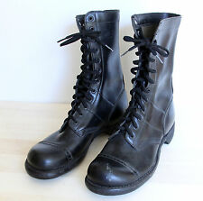 Vintage CORCORAN Boots Mens Size 8 D Capped Toe Military Combat Paratrooper Jump