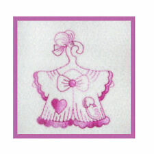 1108:  Machine Embroidery Designs - It's a Girl - Redwork