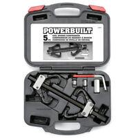 Powerbuilt 5 Piece Coil Spring Compressor Remover Tool Kit  - 648603E