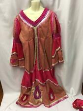 "Dame Pink and gold dress and hat Professional Pantomime costume 42"" chest"
