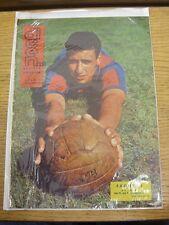 11/10/1962 Dicen Revista Deportiva: No.509 - Issued On Day Of Game Barcelona v O