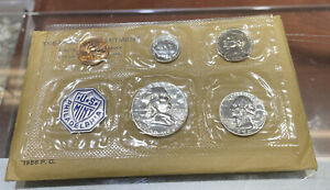 1956 United States Mint Proof Set With Envelope Silver