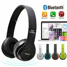Wireless Bluetooth Kids Over-Ear Headphones Earphones for iPad/Tablet/Phones