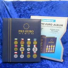 ZA201 Leuchtturm Vista Pre-Euro Album für Europäische Münzensätze, B-Ware