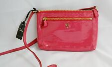 Cole Hahn Purse All Mini Crossbody Azalea Patent PURSE BAG LEATHER Jitney Pink