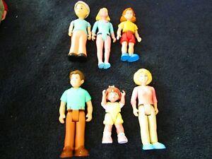 6 Vintage Little Tike People