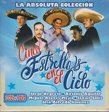 CD - Cinco Estrellas En El Cielo NEW Absoluta Coleccion 3CD/1DVD Fast Shipping !