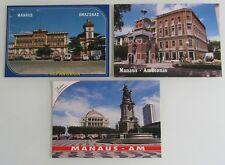 3x MANAUS Amazonas BRASILIEN Brasil Postcard Lot Postcards Postkarten ungelaufen