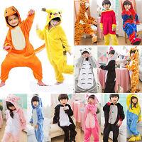 Animal  Kids Girls Kigurumi Cosplay Costume Pyjamas Pajamas Sleepwear 2018