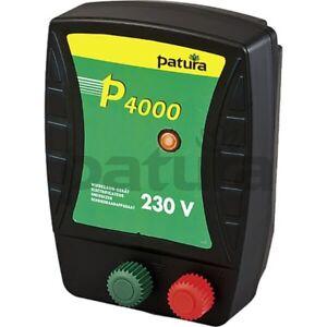 Patura® P4000 Mains Electricity 230 Volt Energiser for Electric Fences - 144040