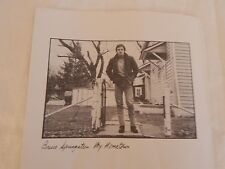 """Bruce Springsteen """"My Hometown"""" PICTURE SLEEVE! NEW! MINT! ABSOLUTELY PERFECT!!"""