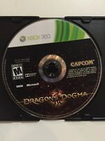 Dragon's Dogma  (Microsoft Xbox 360, 2012)Disc Only Fats Free Shipping