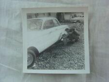 Vintage Car Photo Man Washing 1960 1962 Ford Falcon 799
