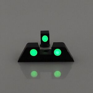 Hunting Hand Glow in the Dark Night Sights Front and Rear Sight Set For Glock