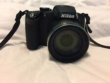 Coolpix Nikon p510 camera with THREE rechargeable batteries, chargers, and case.